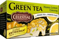Honey Lemon Ginseng 20 Teebeutel Grüner Tee - Celestial Seasonings Tee