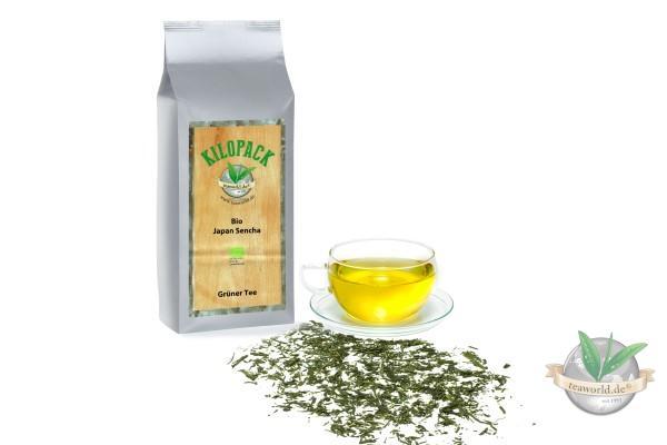 Bio Japan Sencha - Grüner Tee im Kilopack