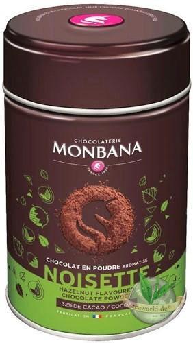 Monbana Trinkschokolade Haselnuss (Noisette)