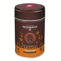 Flavoured Chocolate Powder Caramel Monbana Trinkschokolade