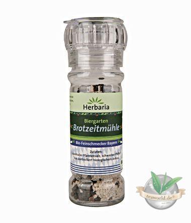 Bio Biergarten Brotzeitmühle Salz & Pfeffer Glasmühle