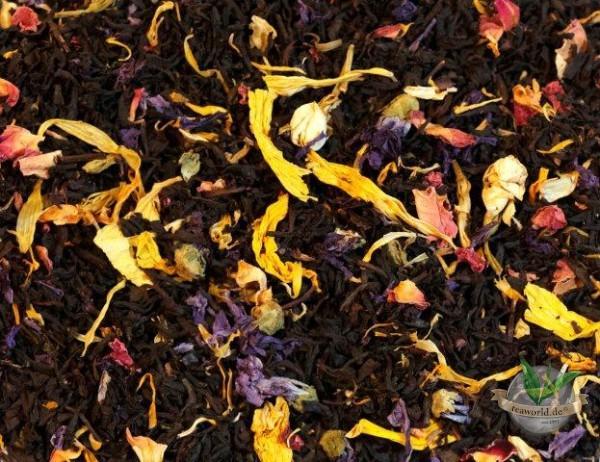 Hawaiiblüte natürlich Schwarzer Tee