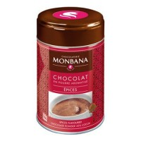 Flavoured Chocolate Powder Spices (Épices) Monbana Trinkschokolade