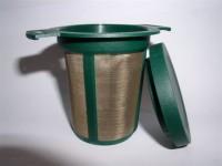 Teedauerfilter mit Deckel (Größe 1)