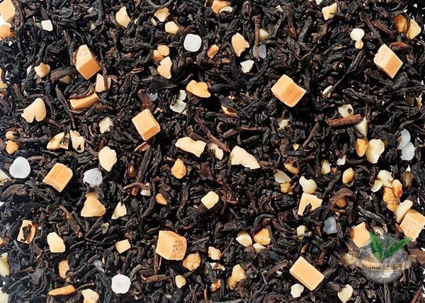 Salziges Karamell aromatisiert - Schwarzer Tee
