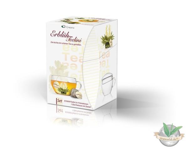 Erblüh Teelini Geschenkbox - weißer Tee von Creano GmbH