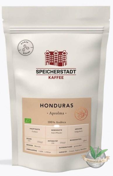 Honduras Aprolma - Speicherstadt Kaffee 500g in Bohnen
