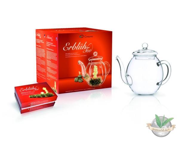 Erblüh Tee Set Geschenkset Frühjahrslese von Creano GmbH