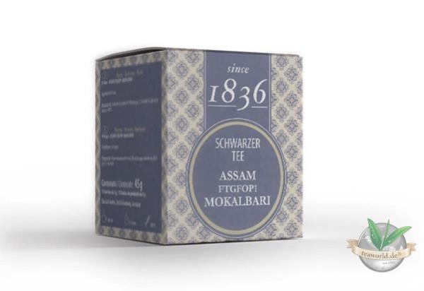 Schwarzer Tee Assam Mokalbari FTGFOP1 - 15 Pyramidenbeutel (D&B)