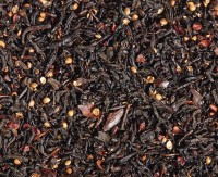 Dunkle Schokolade Zartbitter-Note - Schwarzer Tee aromatisiert