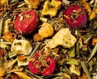 Cranberry-Mandarine aromatisierter grüner Rooibusch-Tee