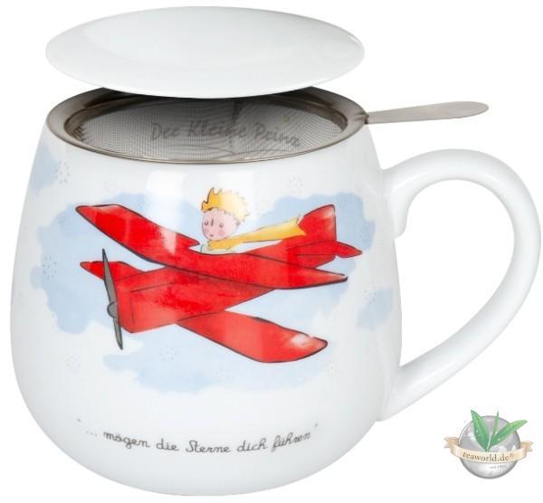 Tea for you - Der kleine Prinz mit Flugzeug