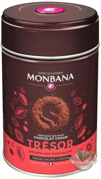 Tresor de Chocolat 33% Chocolate Powder Monbana Trinkschokolade