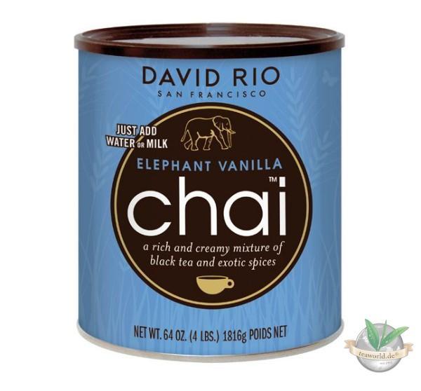 Elephant Vanilla Chai David Rio - Foodservice 1816g