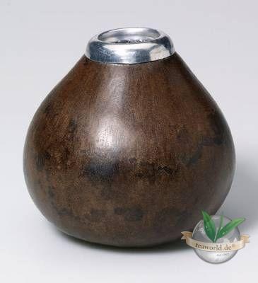 Calebasse - Kalebasse Trinkgefäß für Mate Tee