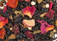 Erdbeer Rhabarber - Schwarzer Tee