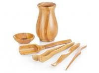 "Teeutensilien ""Cha Dao"" Bambus, 6-teilig"