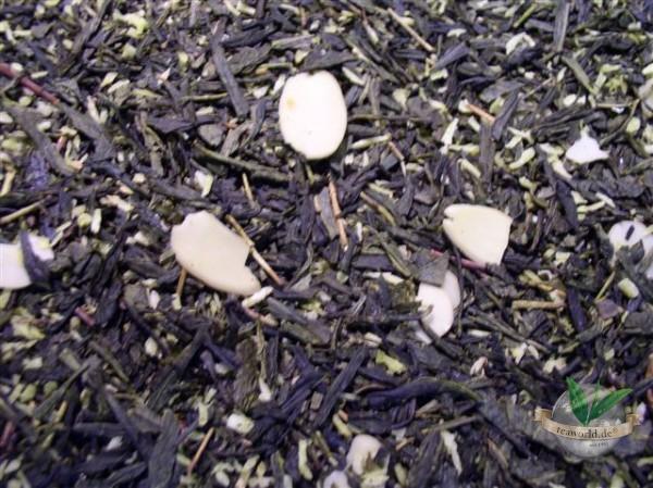 Mandelplätzchen Grüner Tee