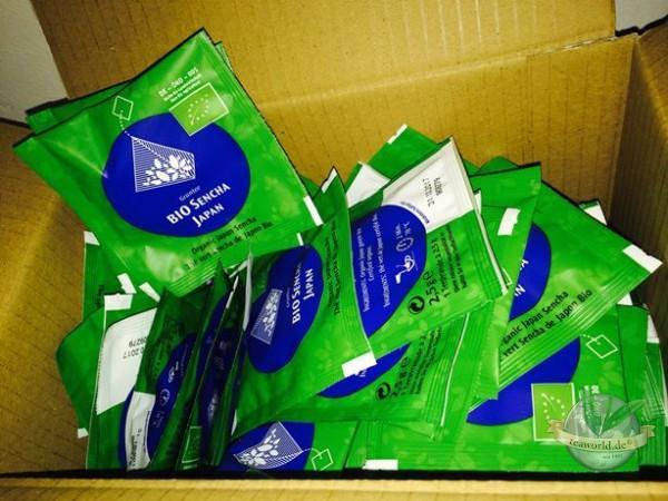 Bio Japan Sencha Grüner Tee 100 Pyramiden Teebeutel
