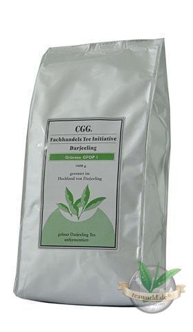 Grüner Tee Darjeeling second flush FTGFOP1 rückstandskontrolliert Teeinitiative