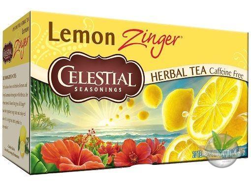 Lemon Zinger - 20 Teebeutel - Celestial Seasonings Tee Früchtetee -
