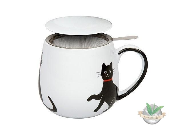 Tea for you - My lovely Cats - Red Necklace