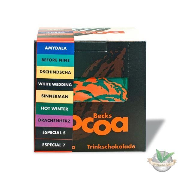 Becks Cocoa Probierpaket mit 16 Portionsbeutel