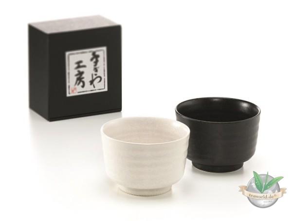 """Matcha-Schale """"Yoru & Hiru"""" Keramik, 2-fach 0,18 l"""""""
