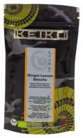 Bio Keiko Ginger Lemon Bancha 50g - Grüner Tee