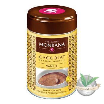Flavoured Chocolate Powder Vanilla Monbana Trinkschokolade