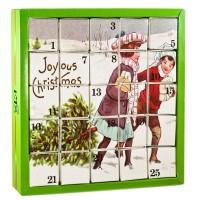 """Nostalgie Tee Adventskalender """"Joyous"""", 25 einzelne Boxen mit würzigen BIO"""