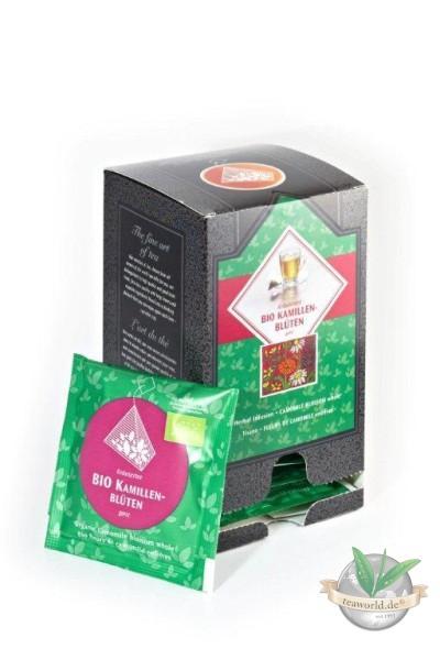 Bio Kamillenblüten ganz 15 Pyramiden Teebeutel