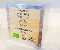 Bio Darjeeling FTGFOP1 first flush MARYBONG in einer 1000g Holzkiste