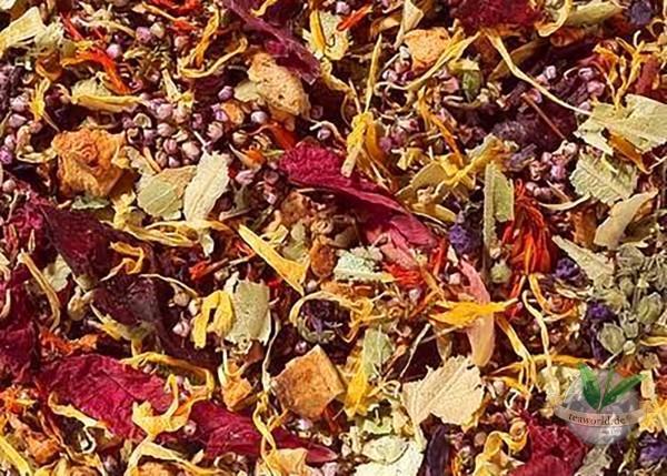 Blütenmeer, Kirsch-Himbeer-Note Kräuterteemischung