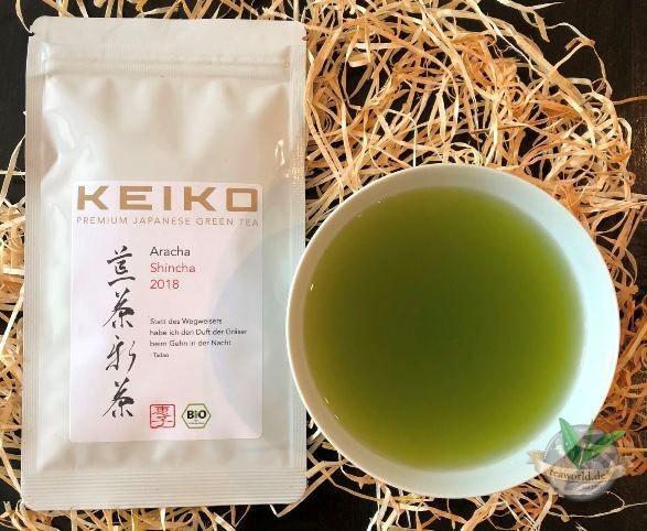 Bio Japan Aracha Shincha Grüner Tee - 50g - Keiko Ernte 2020