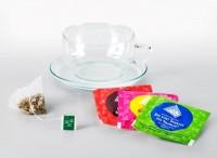 Büro Probierpaket mit Tee & großer Glastasse