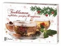 Teeblumen Adventskalender mit 24 unterschiedlichen Teerosen & Teeblüten