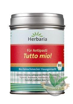 Tutto Mio für Antipasti - Herbaria Bio Gewürze