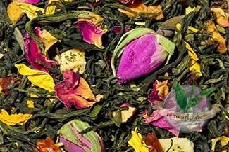 Rosenkönigin natürlich - Grüner Tee
