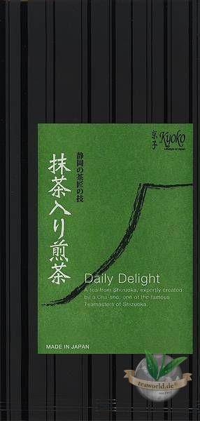Japan Daily Delight Sencha mit Matcha - japanischer Grüntee im Originalgebinde