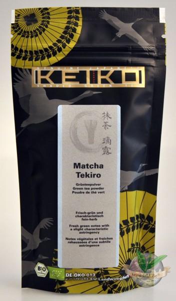 Bio Japan Matcha Tee Tekiro - 50g Nachfüllbeutel - Keiko Green Tea