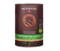 Monbana Bio Fairtrade Chocolate Powder 1000g