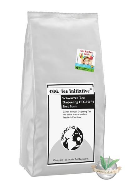 Darjeeling Tee FTGFOB1 first flush rückstandskontrolliert Teeinitiative