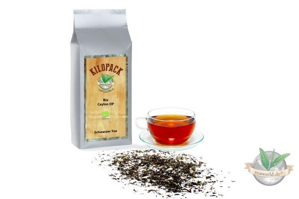 Bio Ceylon OP - Schwarzer Tee im Kilopack