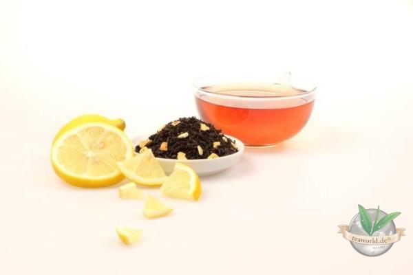 Zitrone natürlich - Schwarzer Tee