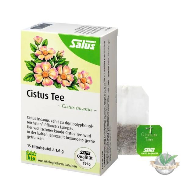 Bio Cistus Tee Salus® - 15 Filterbeutel - Kräutertee