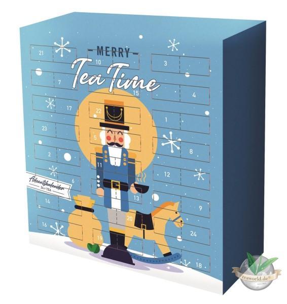 Tee Adventskalender himmlische Teegenüsse - Motiv Winternacht -