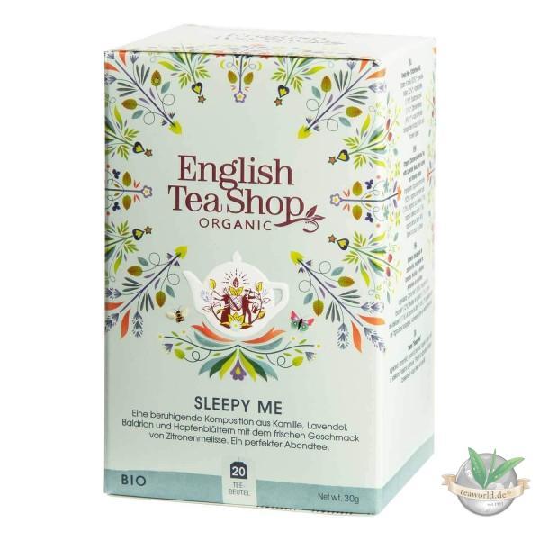 English Tea Shop - Sleepy Me, BIO Wellness-Tee, 20 Teebeutel