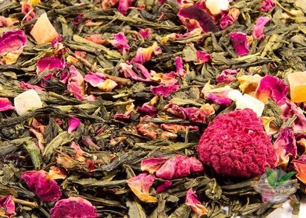 Gute Laune Grüner Tee