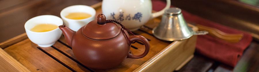 Banner-Image Grüner Tee aus China